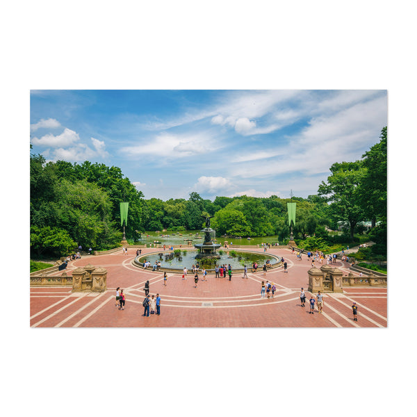 Bethesda Terrace New York City Art Print