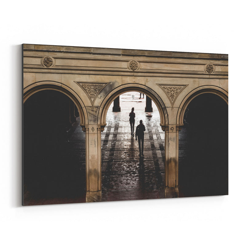 Bethesda Terrace Central Park NY Canvas Art Print