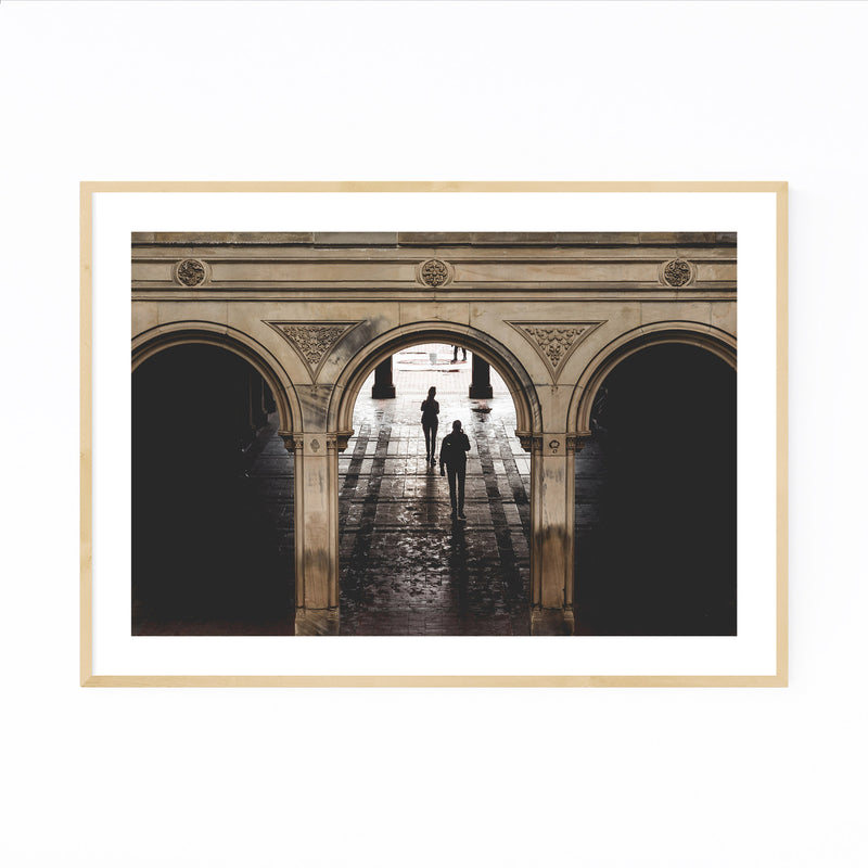 Bethesda Terrace Central Park NY Framed Art Print