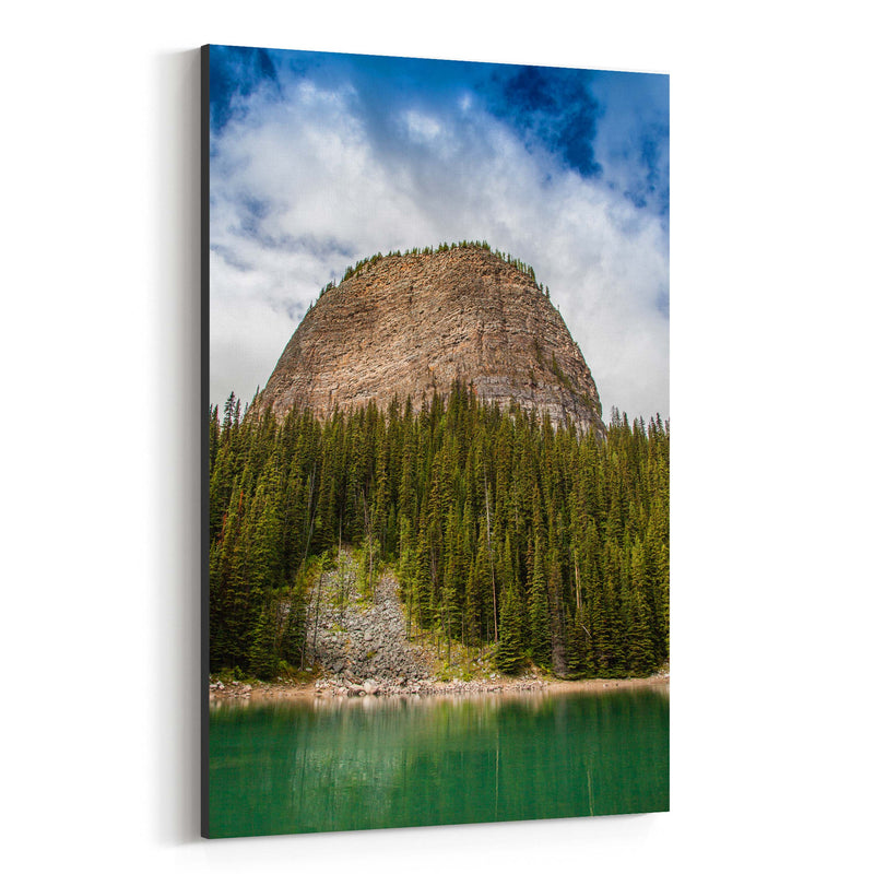 Banff Rocky Mountains Alberta Canvas Art Print