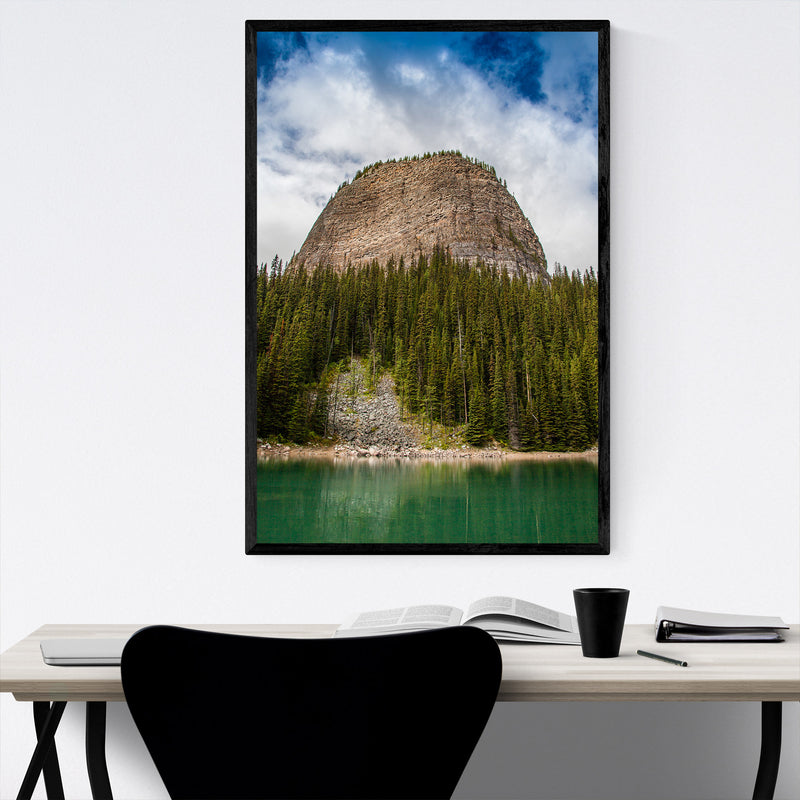 Banff Rocky Mountains Alberta Framed Art Print