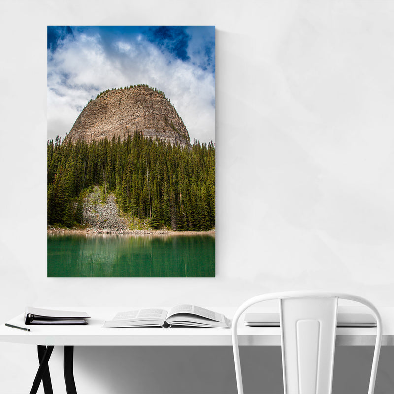 Banff Rocky Mountains Alberta Metal Art Print