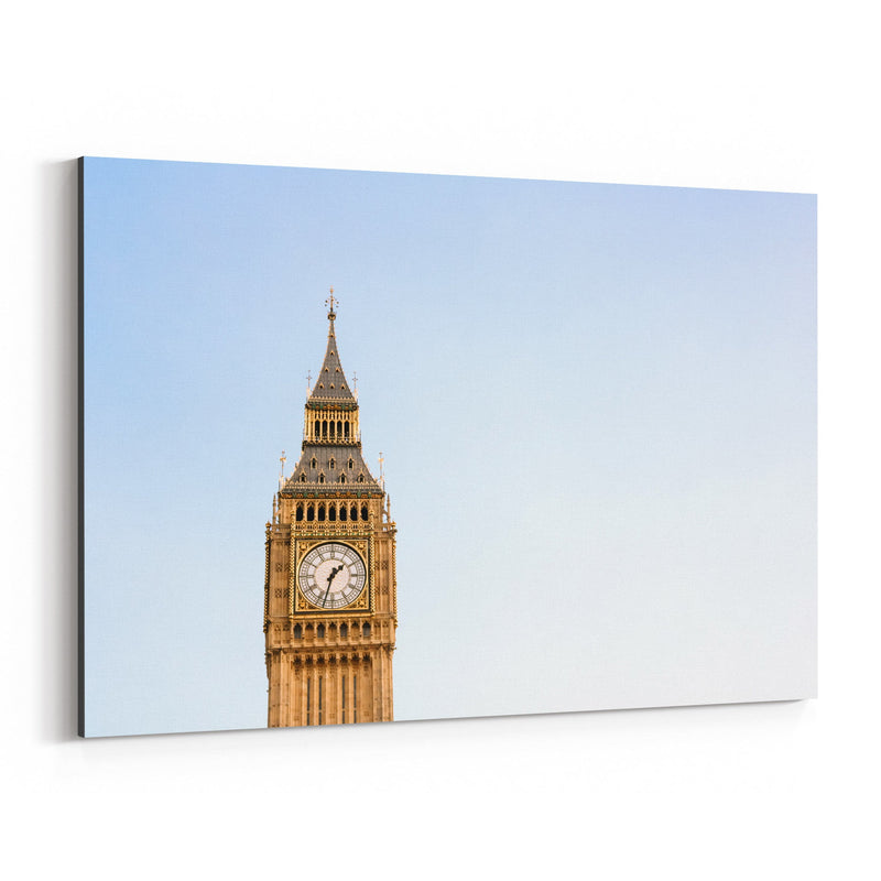Big Ben London Architecture UK Canvas Art Print