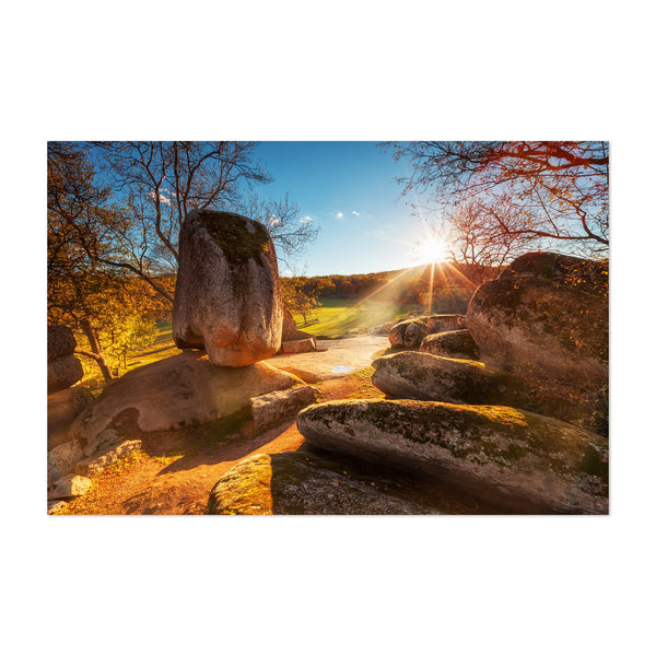 Bulgaria Thracian Sanctuary Art Print