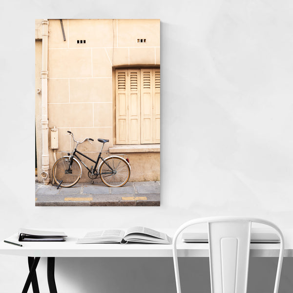 Bike Paris France Photography Art Print