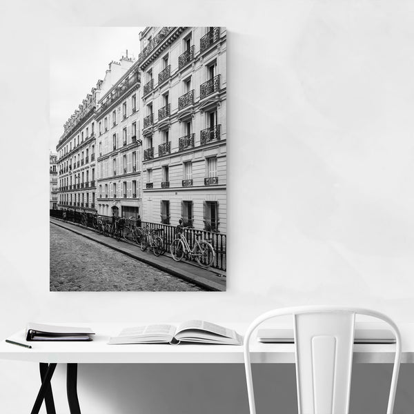 Black & White Paris France Photo Art Print