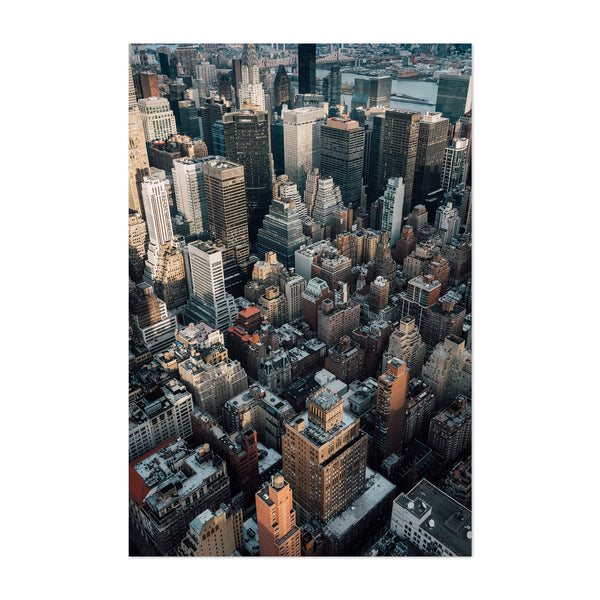 Midtown Manhattan New York NYC Art Print