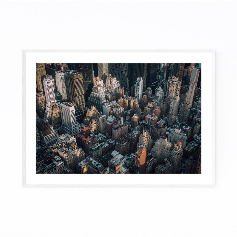 Midtown Manhattan New York NYC Framed Art Print