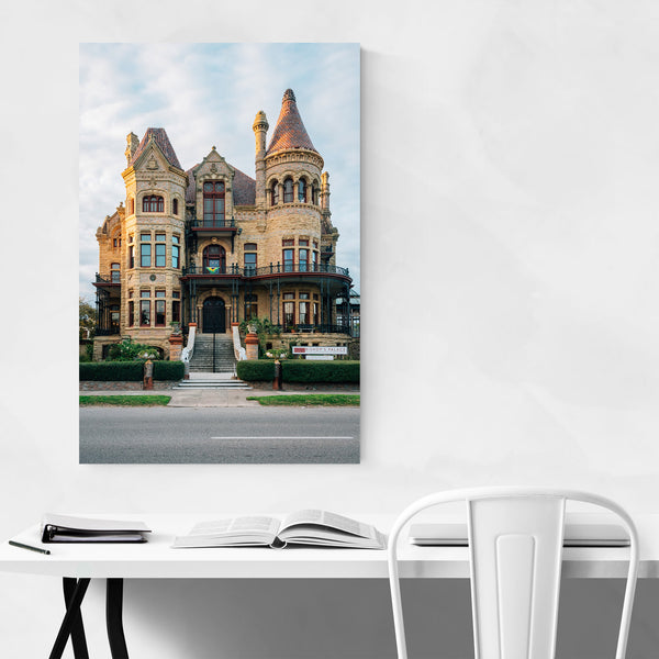 Bishop's Palace Galveston TX Art Print