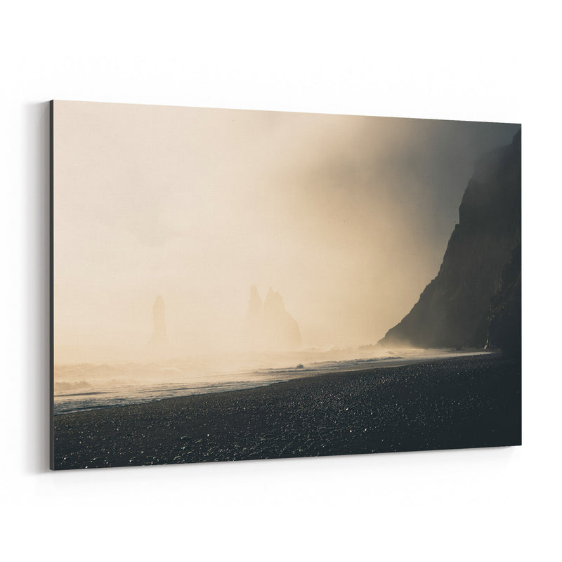 Iceland Landscape Nature Photo Canvas Art Print