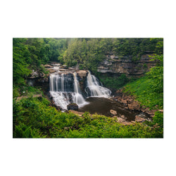 West Virginia Waterfall Nature Art Print