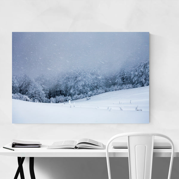 Bulgaria Mountain Winter Art Print