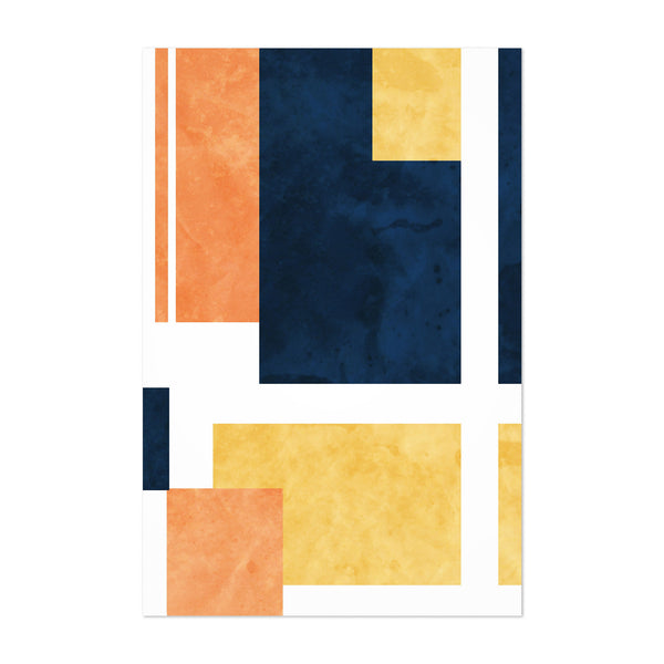Abstract Minimal Modern Shapes Art Print