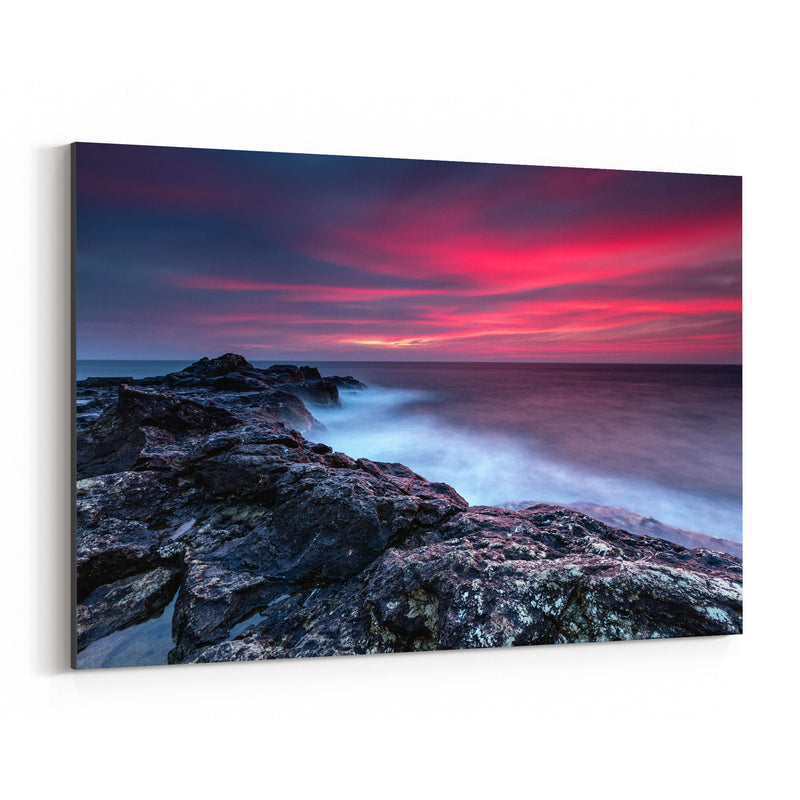 Bulgaria Black Sea Coast Winter Canvas Art Print