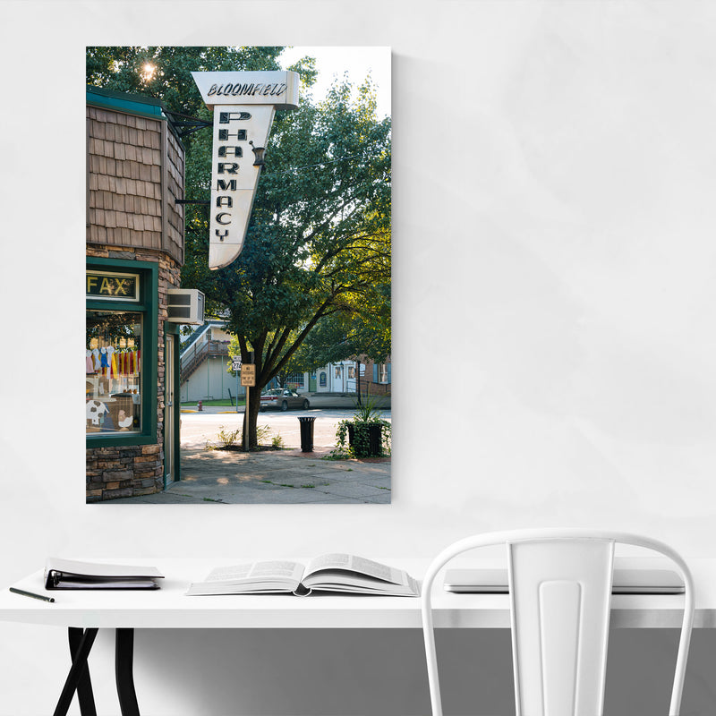 Bloomfield Pharmacy Sign PA Art Print