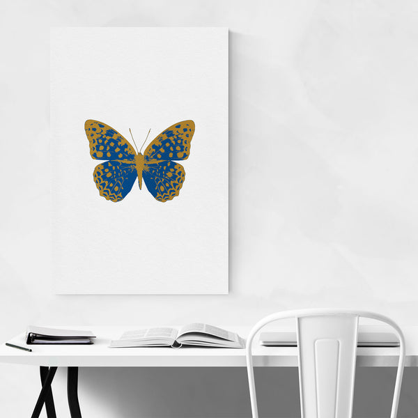 Butterfly Animal Insect Collage Art Print