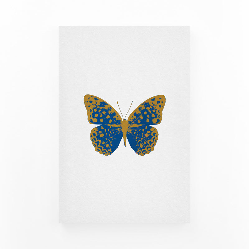 Butterfly Animal Insect Collage Canvas Art Print