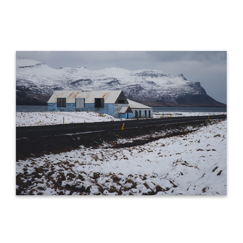 Iceland Landscape Nature Photo Metal Art Print