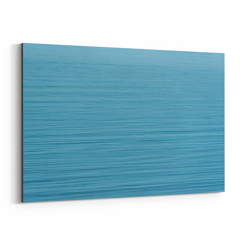 Blue Water Ripples Nature Canvas Art Print