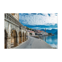 Perast Montenegro Old Town Photo Art Print
