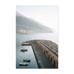 Maiori Amalfi Coast Italy Photo Art Print