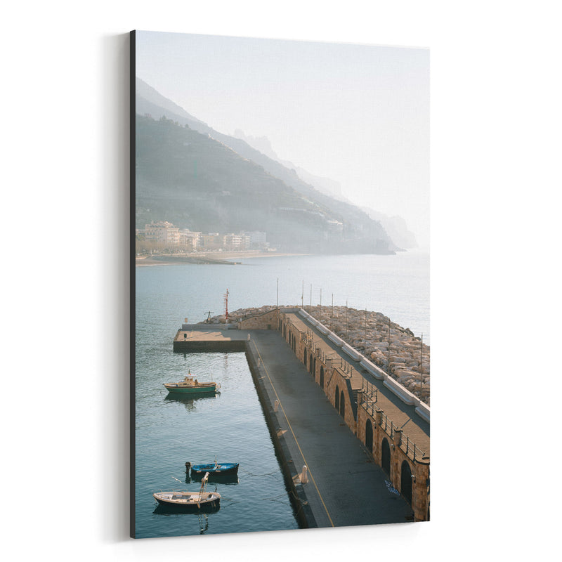 Maiori Amalfi Coast Italy Photo Canvas Art Print