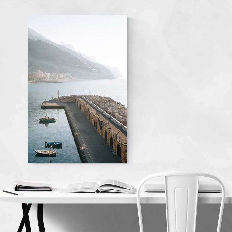 Maiori Amalfi Coast Italy Photo Metal Art Print
