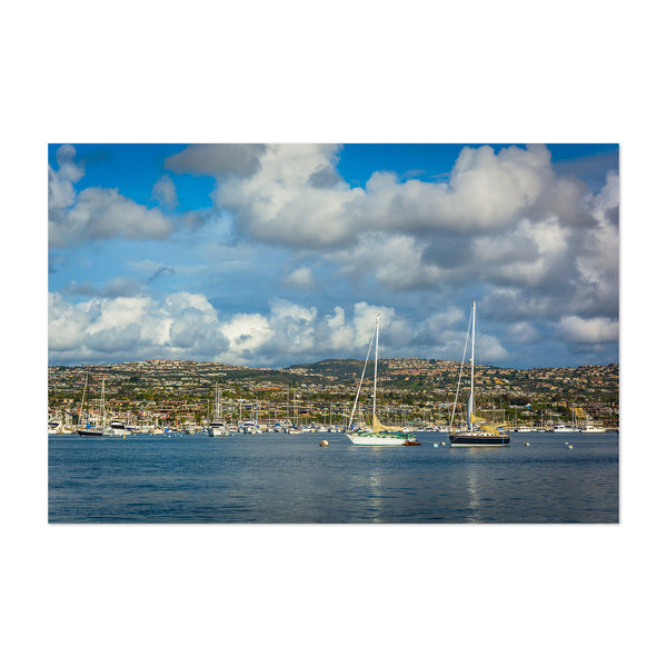 Newport Beach California Harbor Art Print