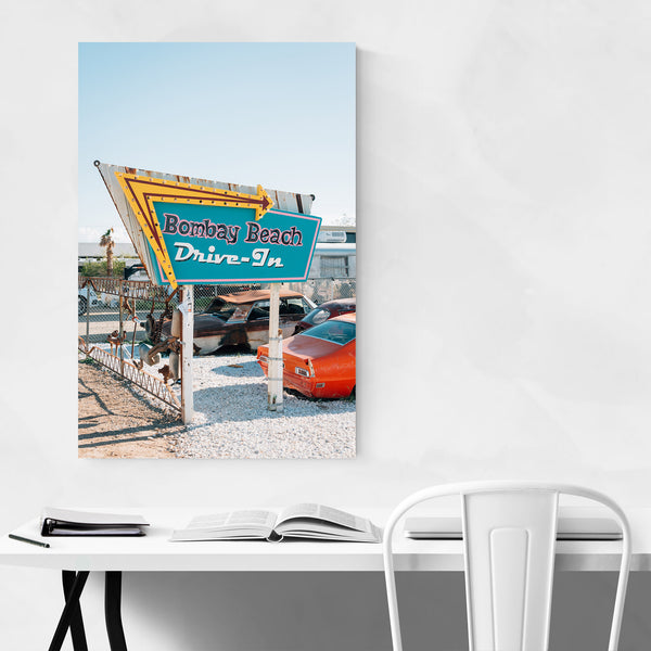 Bombay Beach Salton California Art Print