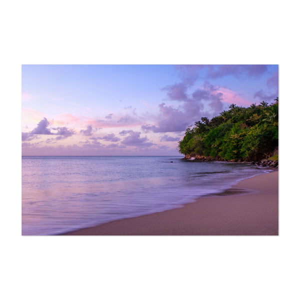 Saint Lucia Beach Coastal Nature Art Print