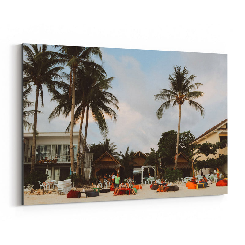 Boracay Philippines Beach Coast Canvas Art Print