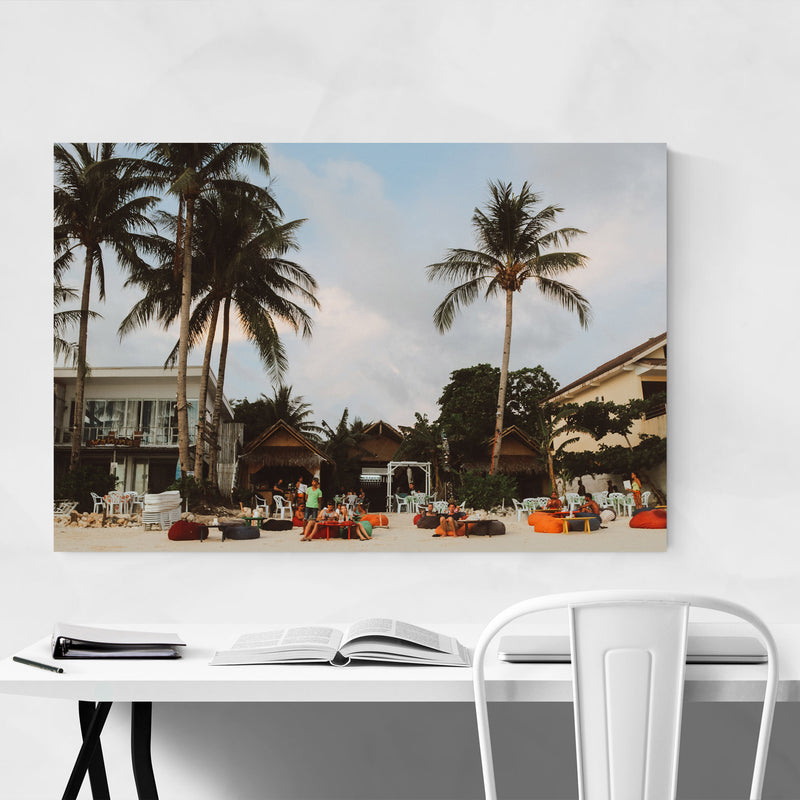 Boracay Philippines Beach Coast Metal Art Print