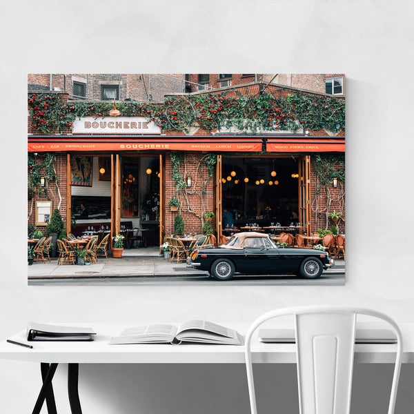 Old Car Boucherie New York City Art Print