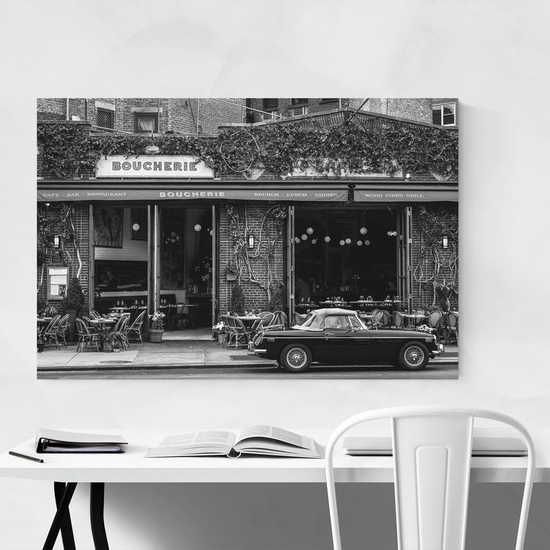 Black White New York City Photo Art Print