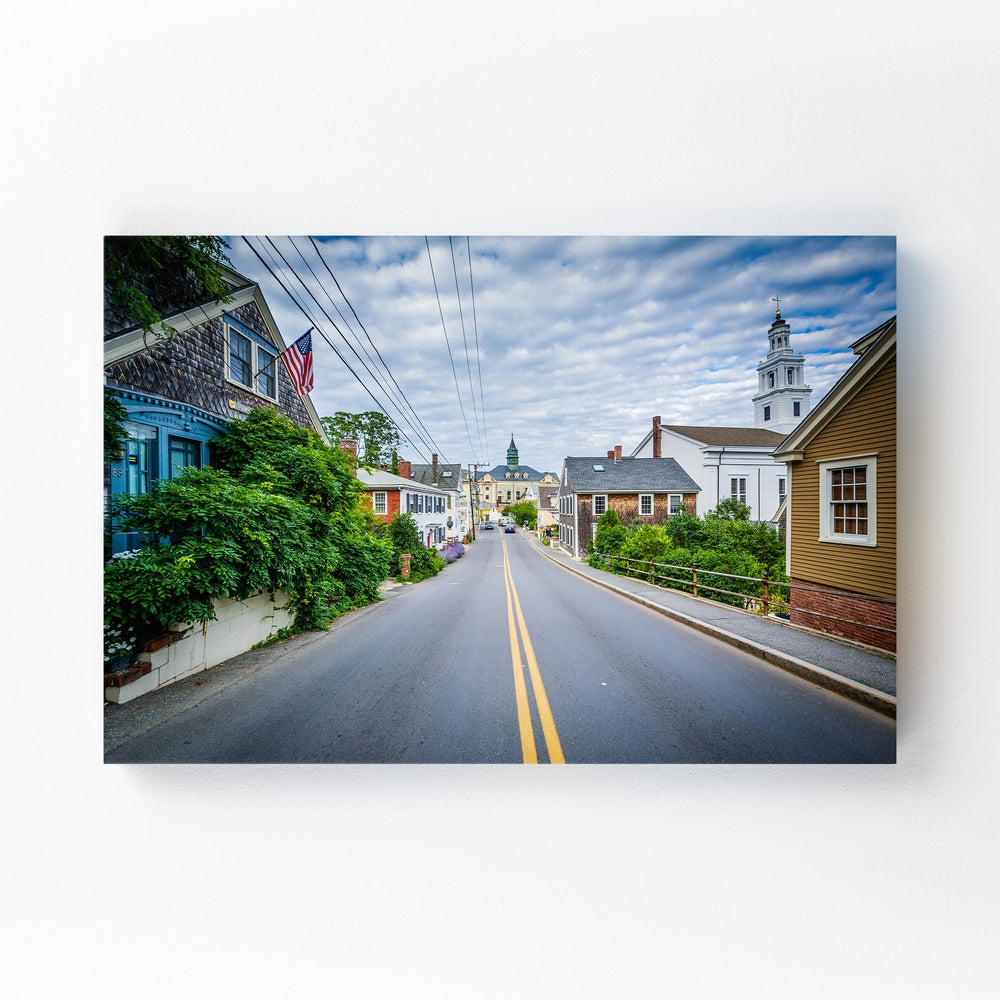 Cape Cod Provincetown Coastal Mounted Art Print