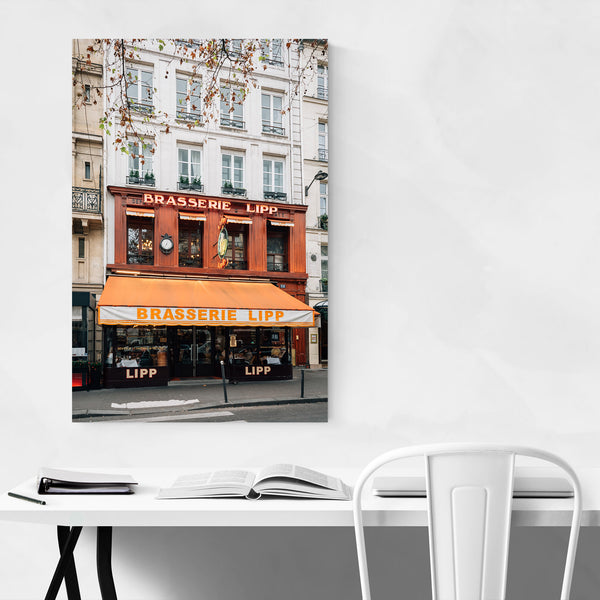 Brasserie Paris France Photo Art Print