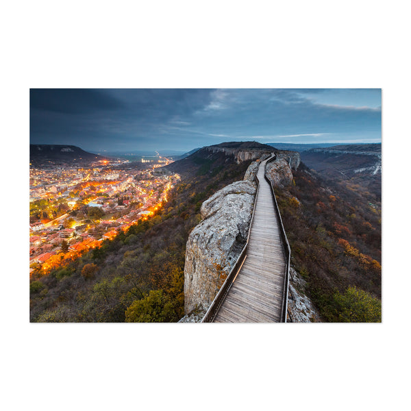 Provadiya Bulgaria Mountains  Art Print