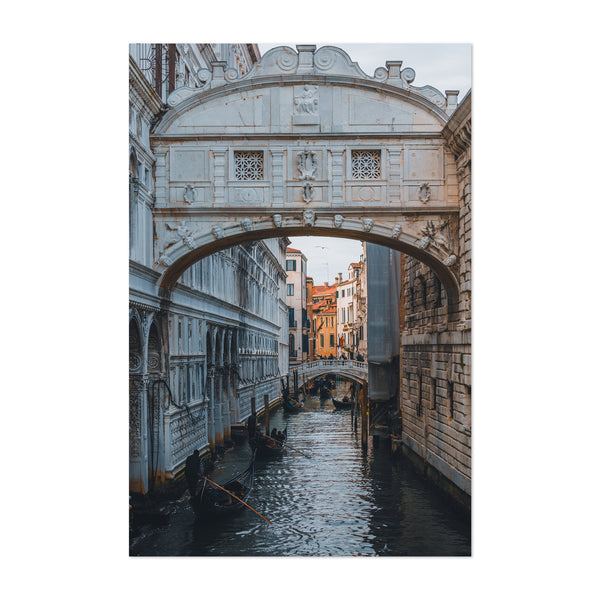 Venice Italy Bridge of Sighs Art Print