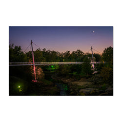 Greenville South Carolina Park Art Print