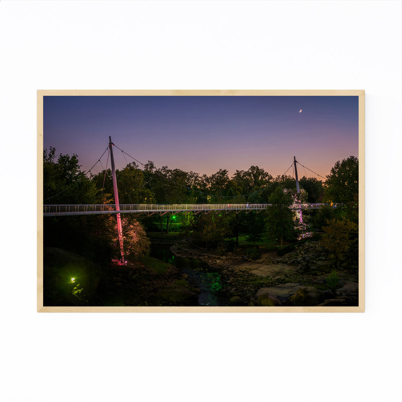Greenville South Carolina Park Framed Art Print