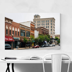 Downtown Aurora Illinois Art Print