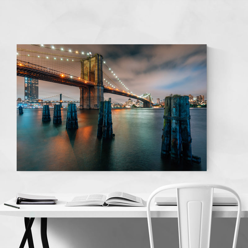Brooklyn Bridge New York City Canvas Art Print