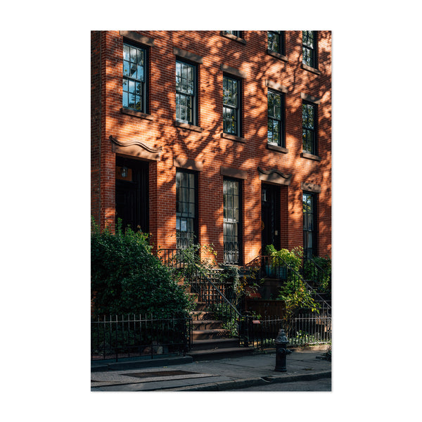 Brooklyn Heights New York City Art Print