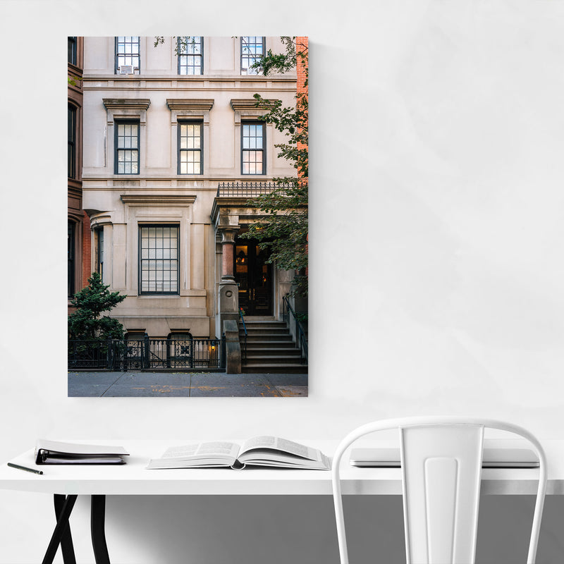 Brooklyn Heights New York City Canvas Art Print