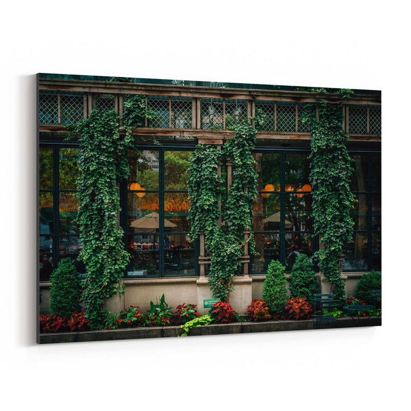 Bryant Park Midtown New York NYC Canvas Art Print