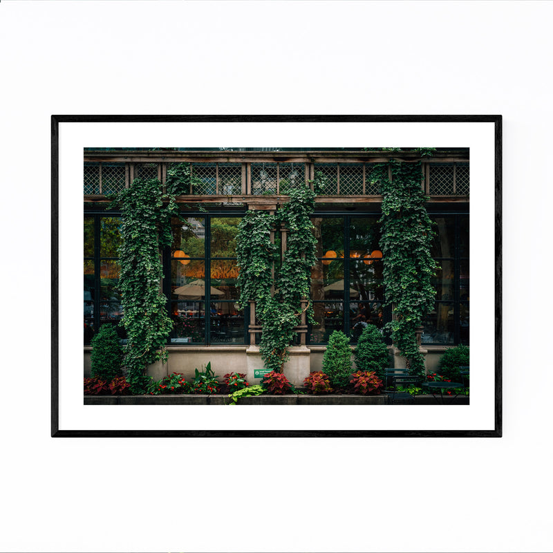 Bryant Park Midtown New York NYC Framed Art Print