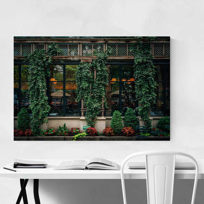 Bryant Park Midtown New York NYC Metal Art Print