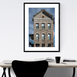 Highlandtown Baltimore Photo Framed Art Print