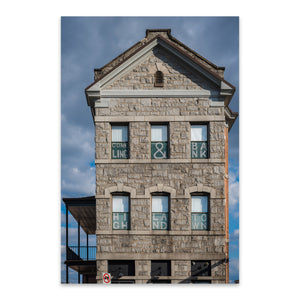 Highlandtown Baltimore Photo Metal Art Print