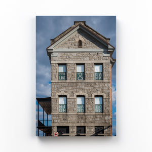 Highlandtown Baltimore Photo Mounted Art Print